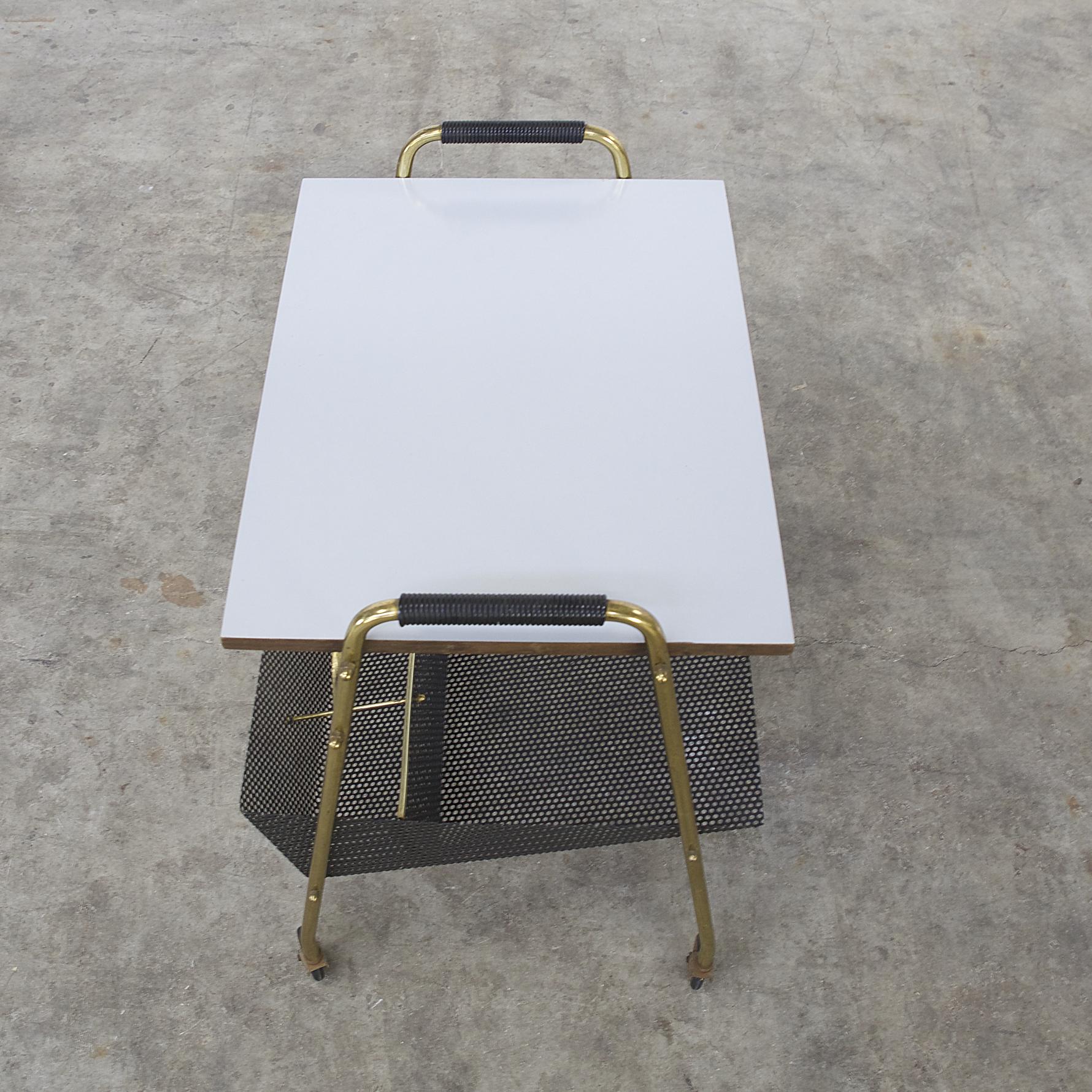 60s serving trolley model 3618 for ilse m bel barbmama. Black Bedroom Furniture Sets. Home Design Ideas
