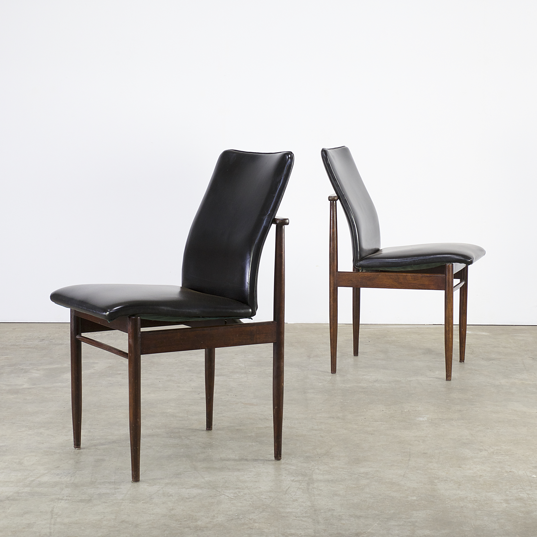60s rosewood dining chairs for fristho set 2 barbmama for 60s chair design
