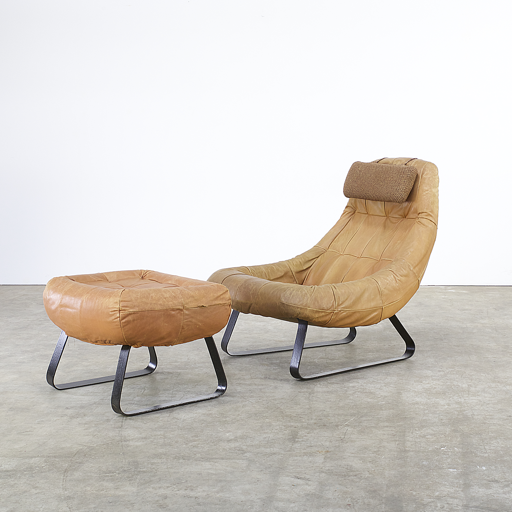 60s percival lafer earth chair collection fauteuil ottoman barbmama. Black Bedroom Furniture Sets. Home Design Ideas