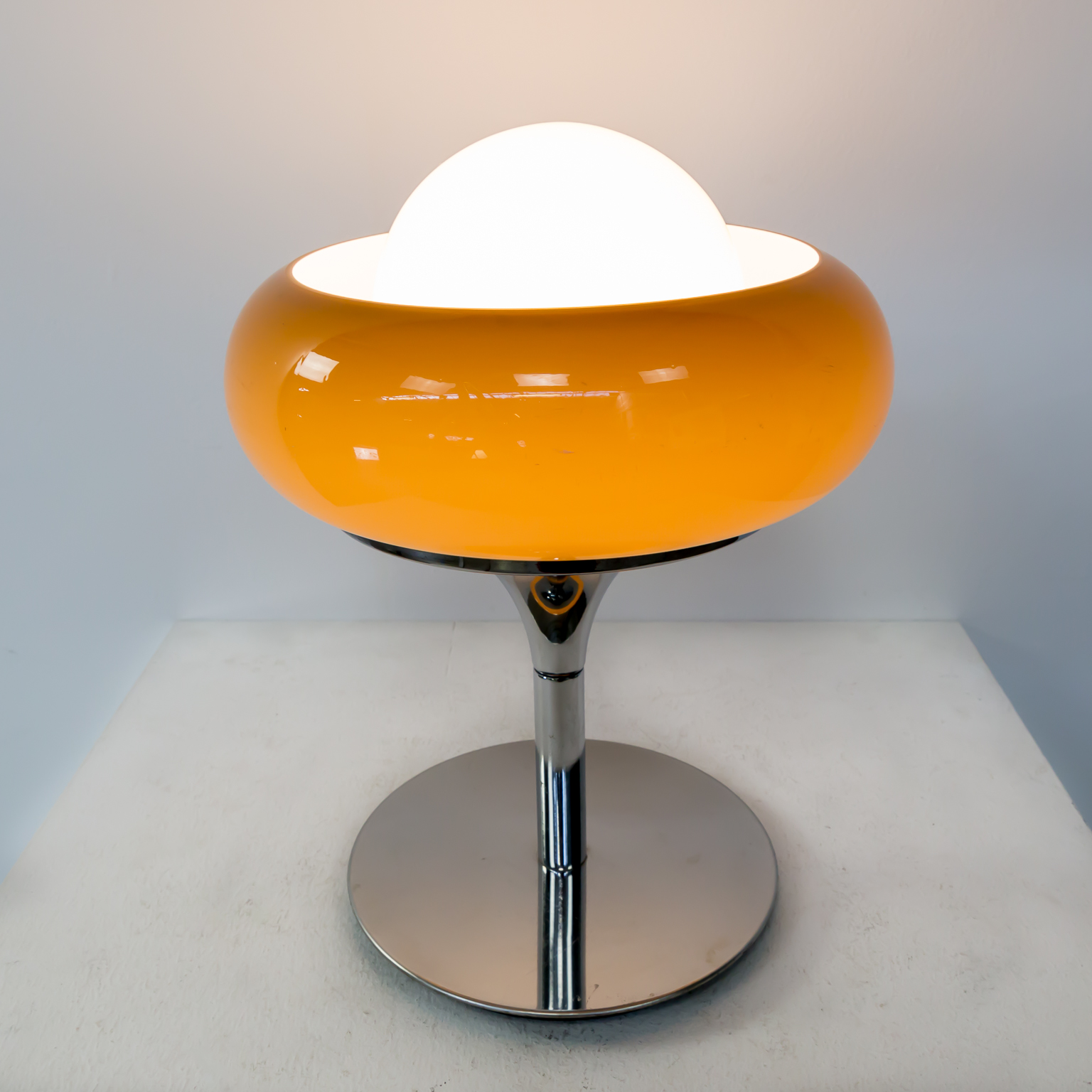 60s Mid Century Table Lamp By Harvey Guzzini BarbMama