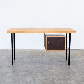 0622037TBU-writing desk-bureau-teak-plywood-vintage-retro-design-barbmama-1