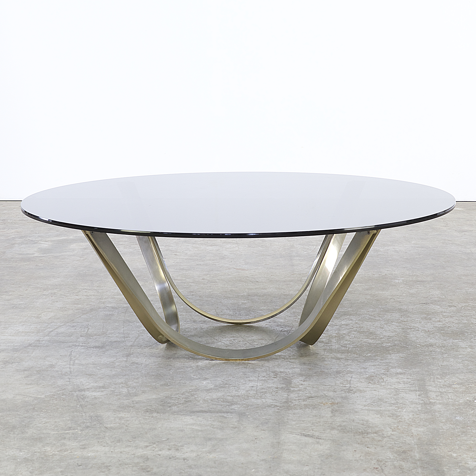 70s Roger Sprunger Brass And Glass Coffee Table For Dunbar Furniture Barbmama