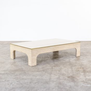 1022037TST-willy rizzo-travertine-coffee table-salon tafel-vintage-retro-design-barbmama-001