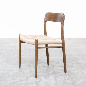 0626047ZST-niels o moller-jl moller-oak-dining chair-stoel-papercord-vintage-retro-design-barbmama-2002