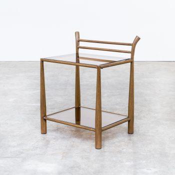 0903057TS-glass-metal-wood-side table-bijzet tafel-vintage-retro-design-barbmama-1001