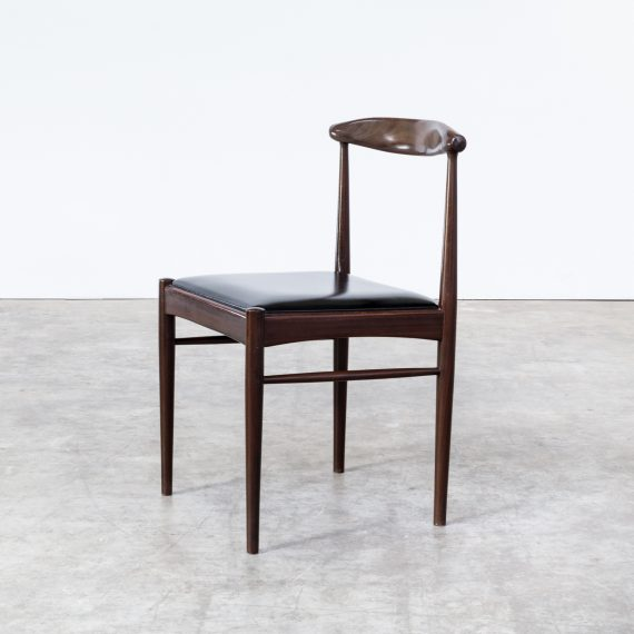 Mid Century Dining Room Chairs In Rosewood Set 4 BarbMama