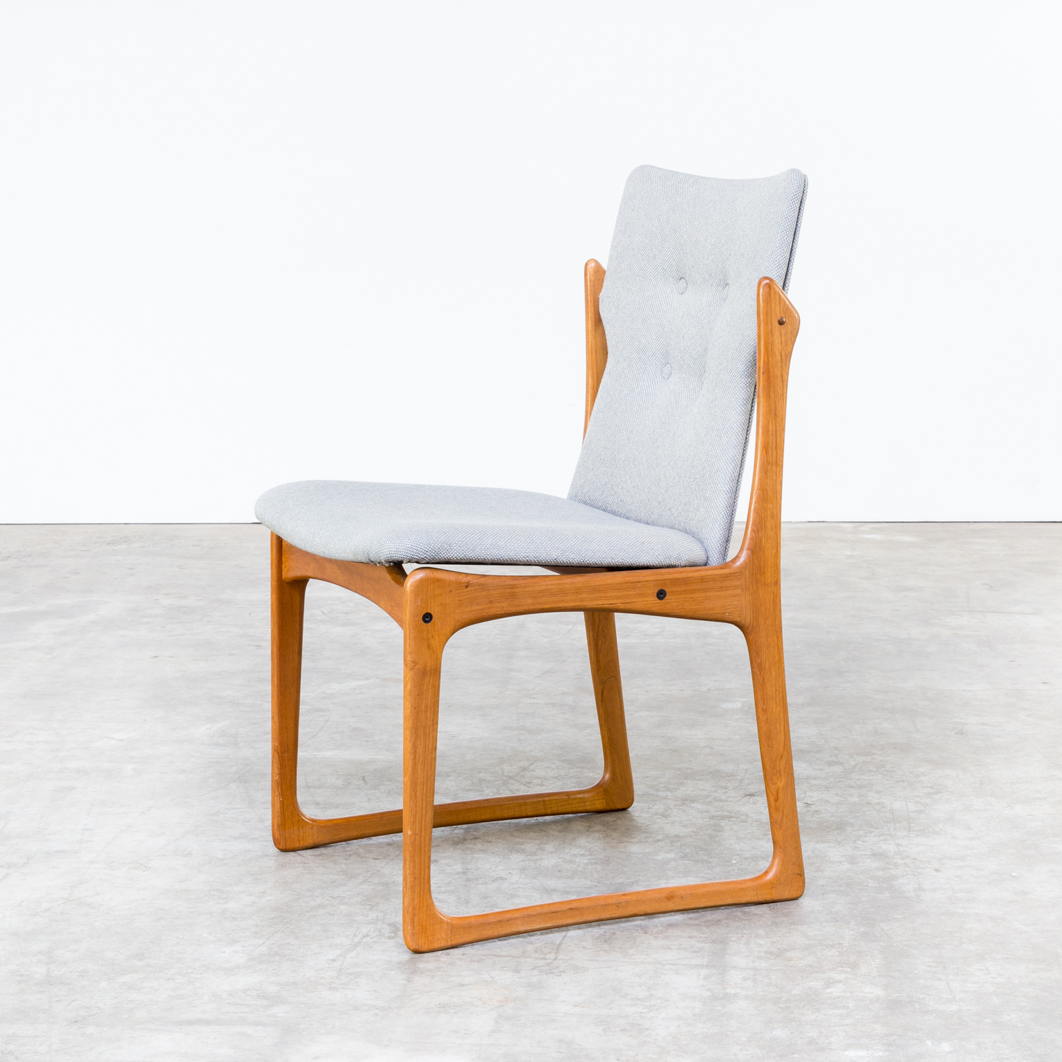 60s dining room chair for vamdrup stolefabrik denmark set for Designer chairs from the 60s