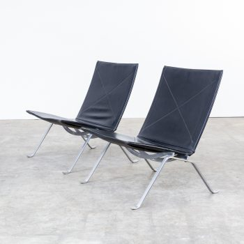 0107067ZF-poul kjaerholm-pk22-set-fauteuil-fritz hansen-vintage-retro-design-barbmama-9009