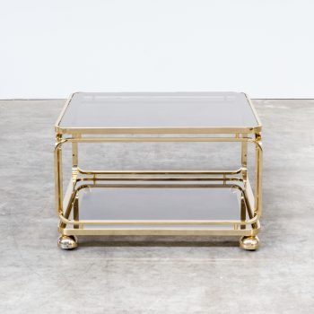 0421067TS-allegri-coffee table-side table-brass-glass-vintage-retro-design-barbmama-1001