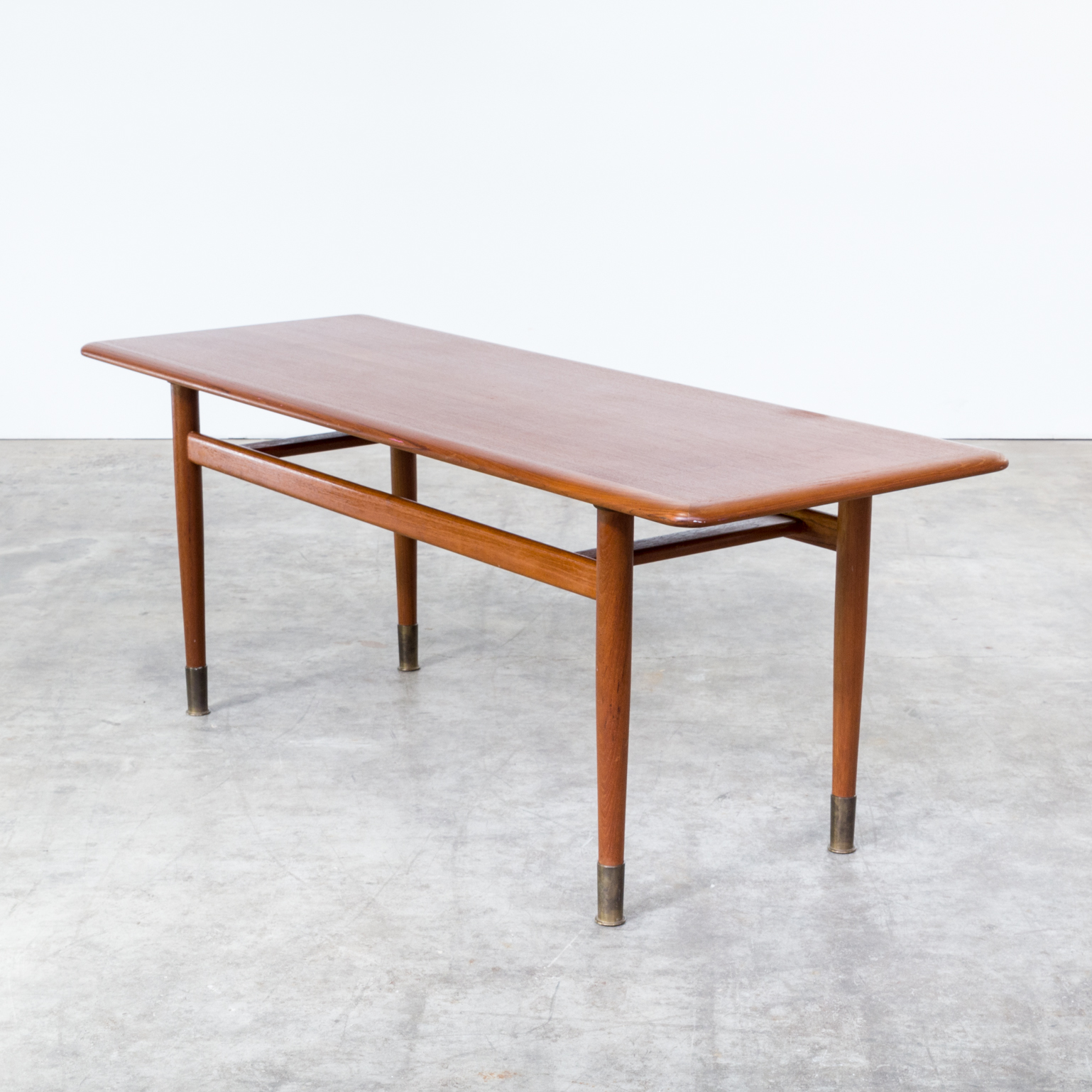 60s teak coffee table attr wilhelm renz barbmama for 60s coffee table
