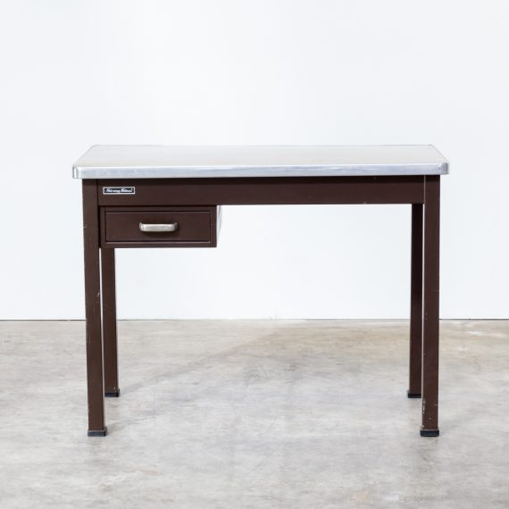 0714067TBu-strong steel-writing desk-bureau-brown-vintage-retro-design-barbmama-1001