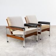 1207067ZF-fauteuil-aluminium-light weigth-teak-leatherette-vintage-retro-design-barbmama-3003