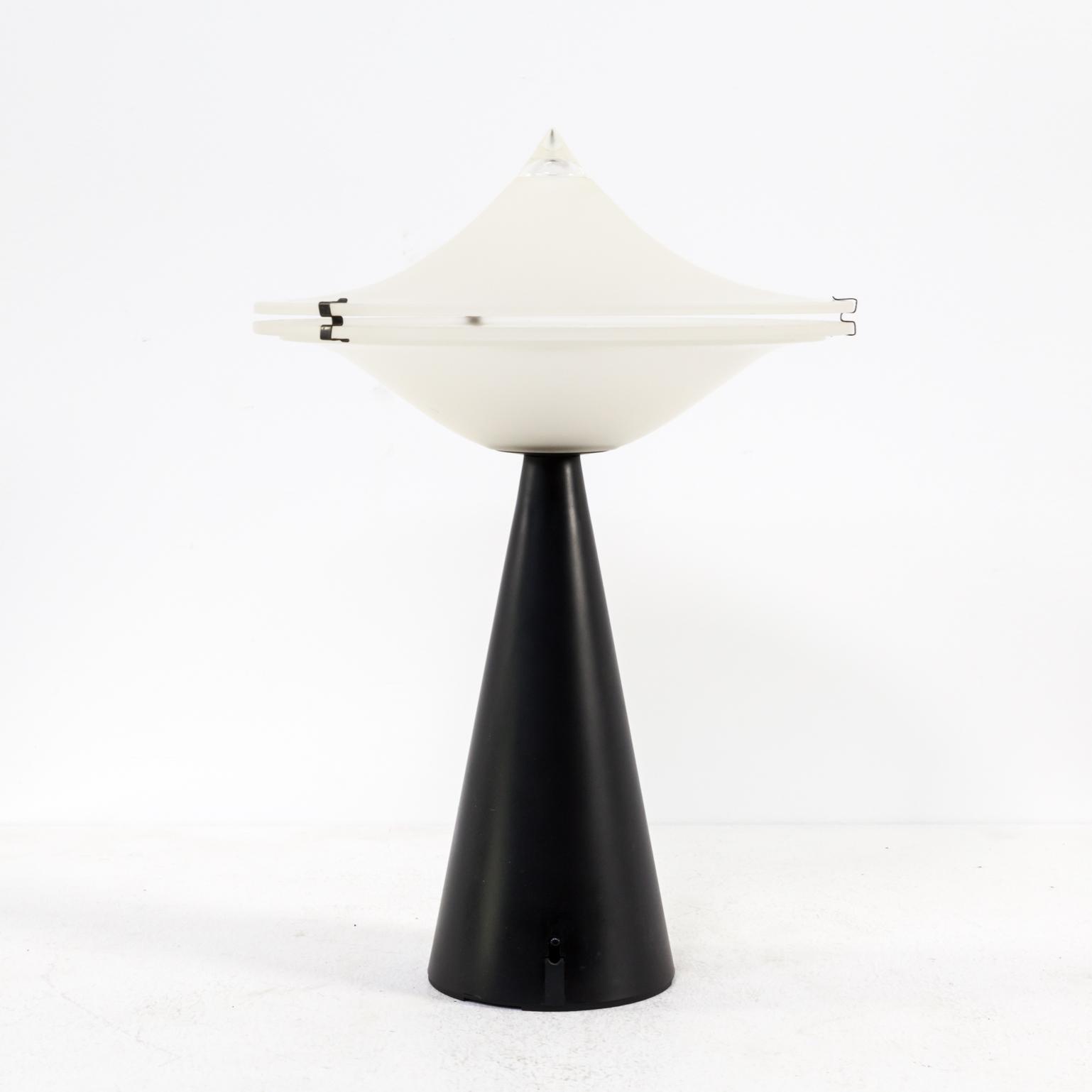 70s Lacca Cesare \'Aliën\' table lamp fro Tre Ci Luce | BarbMama