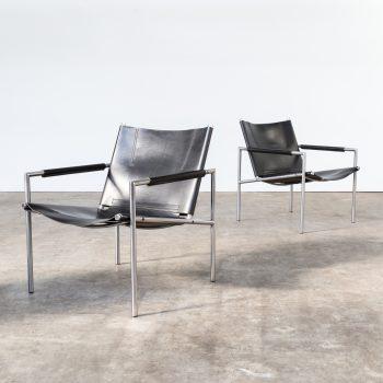 0219077ZF-martin visser-sz02-fauteuil-black-leather-vintage-retro-design-barbmama-1001