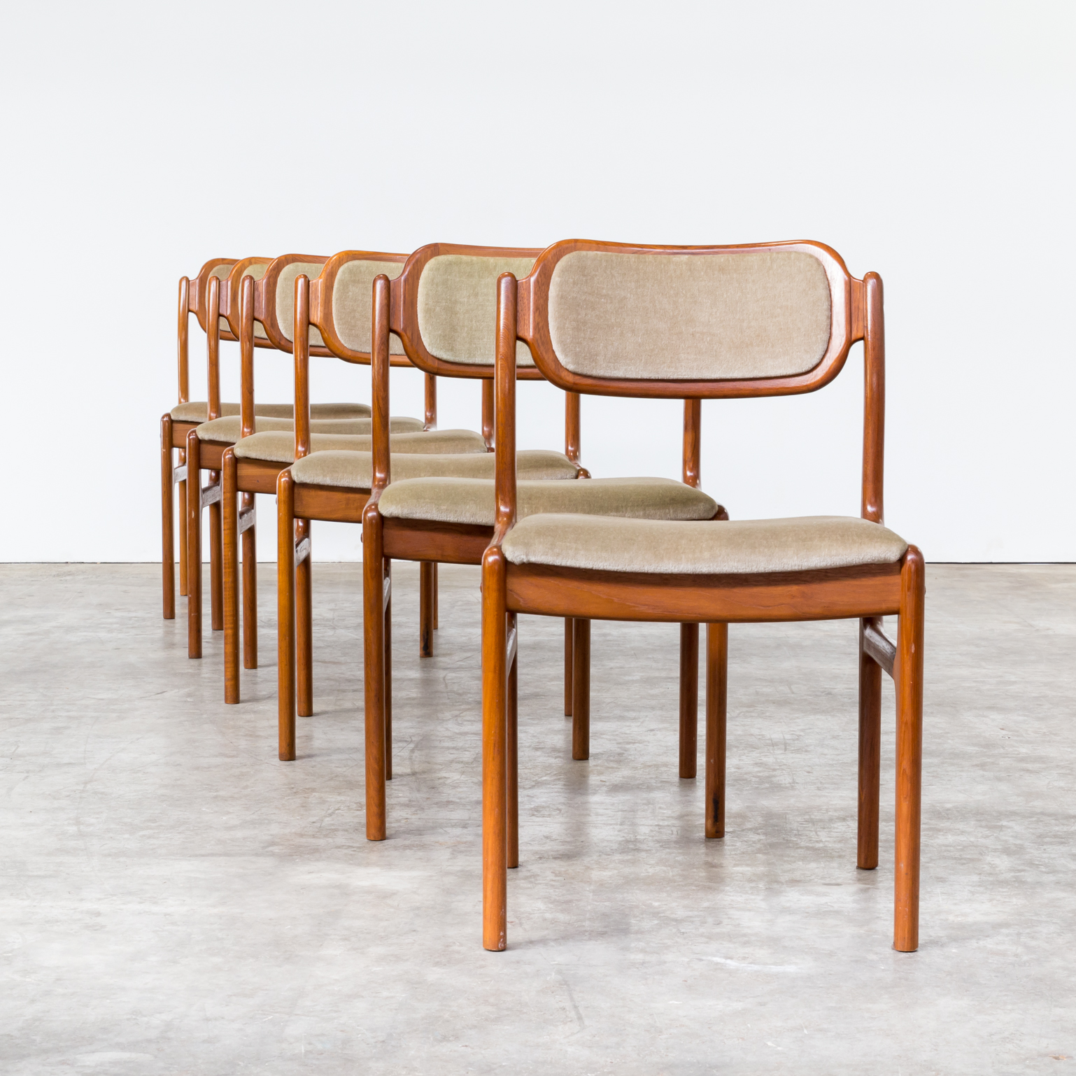 60s johannes andersen dining chairs for uldum mo belfabrik for 60s chair design