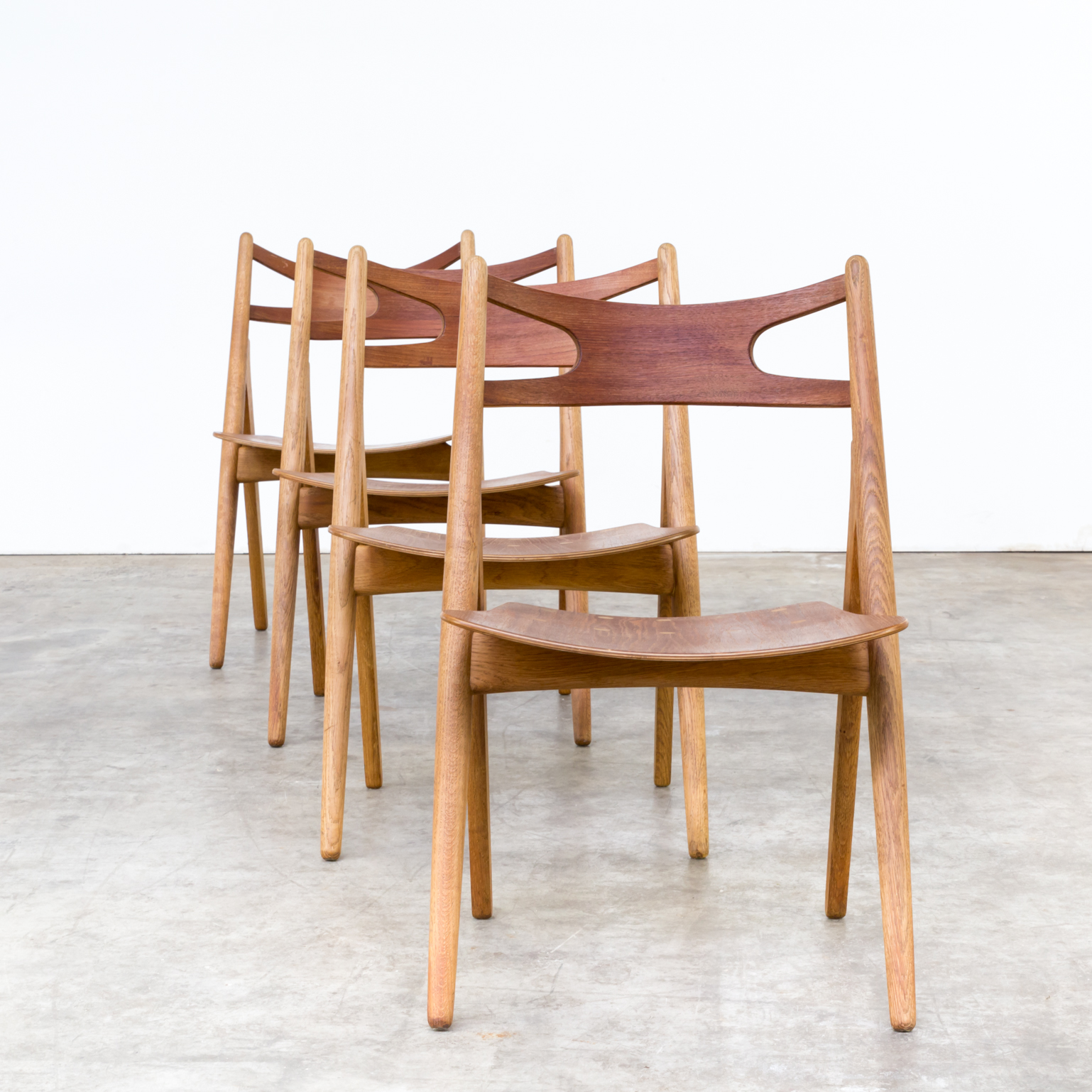 60s Hans Wegner CH29 Sawback dining chair for Carl Hansen & Son