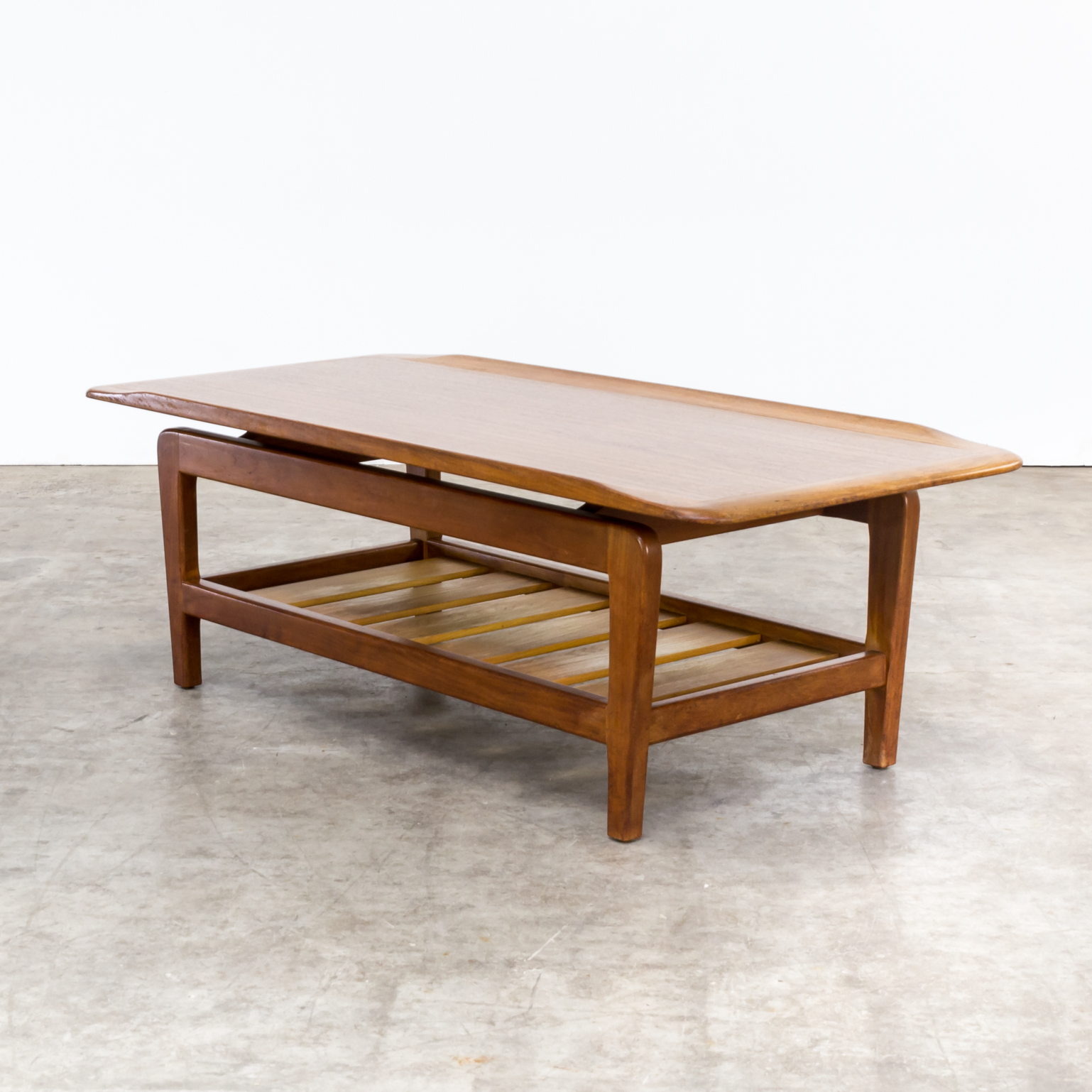 60s large and firm danish design coffee table barbmama