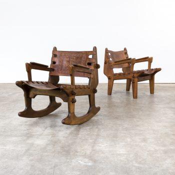 0808117ZST-angel pazmino-chair-rocking chair-set-saddle-leather-vintage-retro-design-barbmama-1001