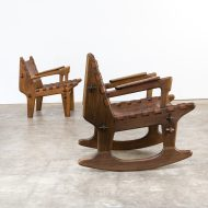 0808117ZST-angel pazmino-chair-rocking chair-set-saddle-leather-vintage-retro-design-barbmama-6006