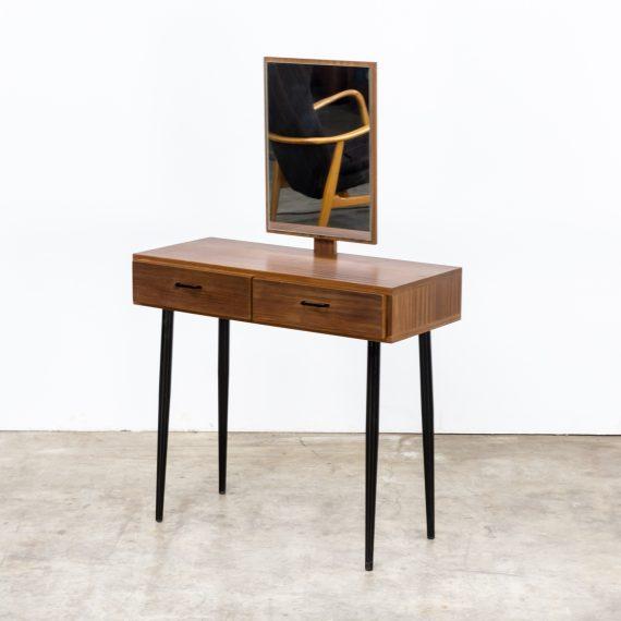 0815117TK-dressing table-teak-veneer-mirror-small-vintage-retro-design-barbmama-3003