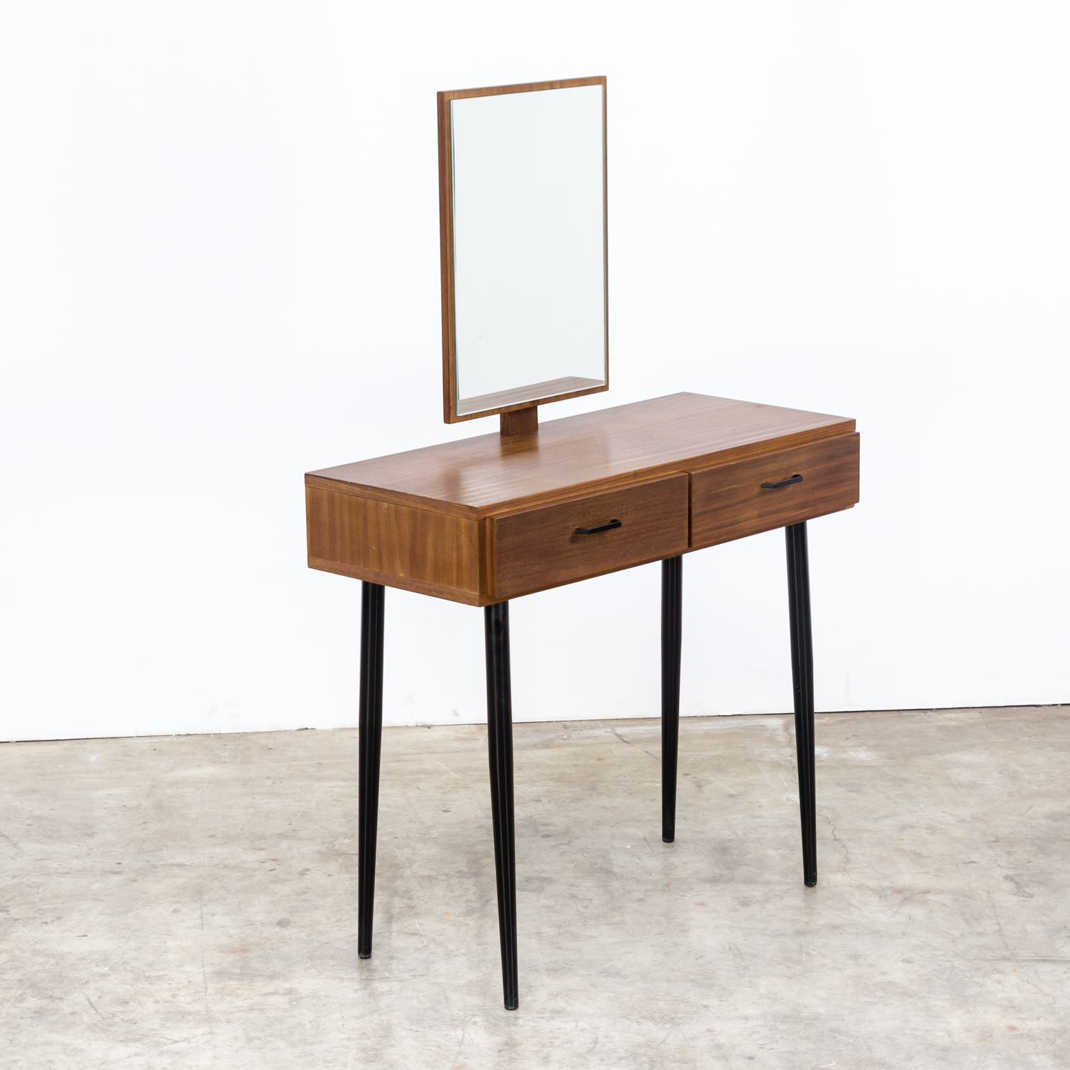 60s teak dressing table with mirror barbmama for 60s table design
