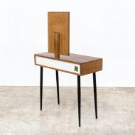 0815117TK-dressing table-teak-veneer-mirror-small-vintage-retro-design-barbmama-6006