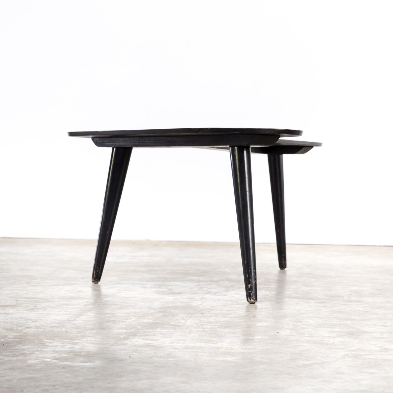 50 s Bovenkamp boomerang table
