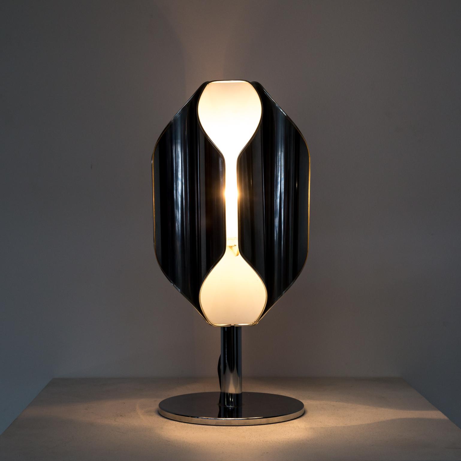 60s Beautiful Shaped Goffredo Reggiani Table Lamp BarbMama