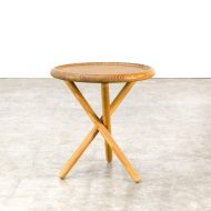 0522117TB-pine-side table-round-leather-rond-bijzettafel-vintage-retro-design-barbmama-1001