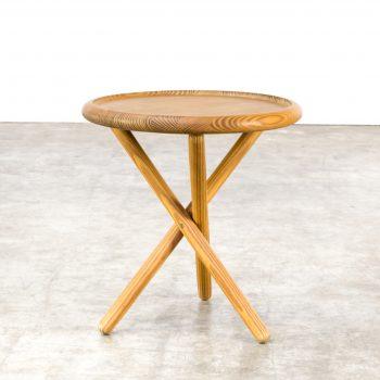 0522117TB-pine-side table-round-leather-rond-bijzettafel-vintage-retro-design-barbmama-2002
