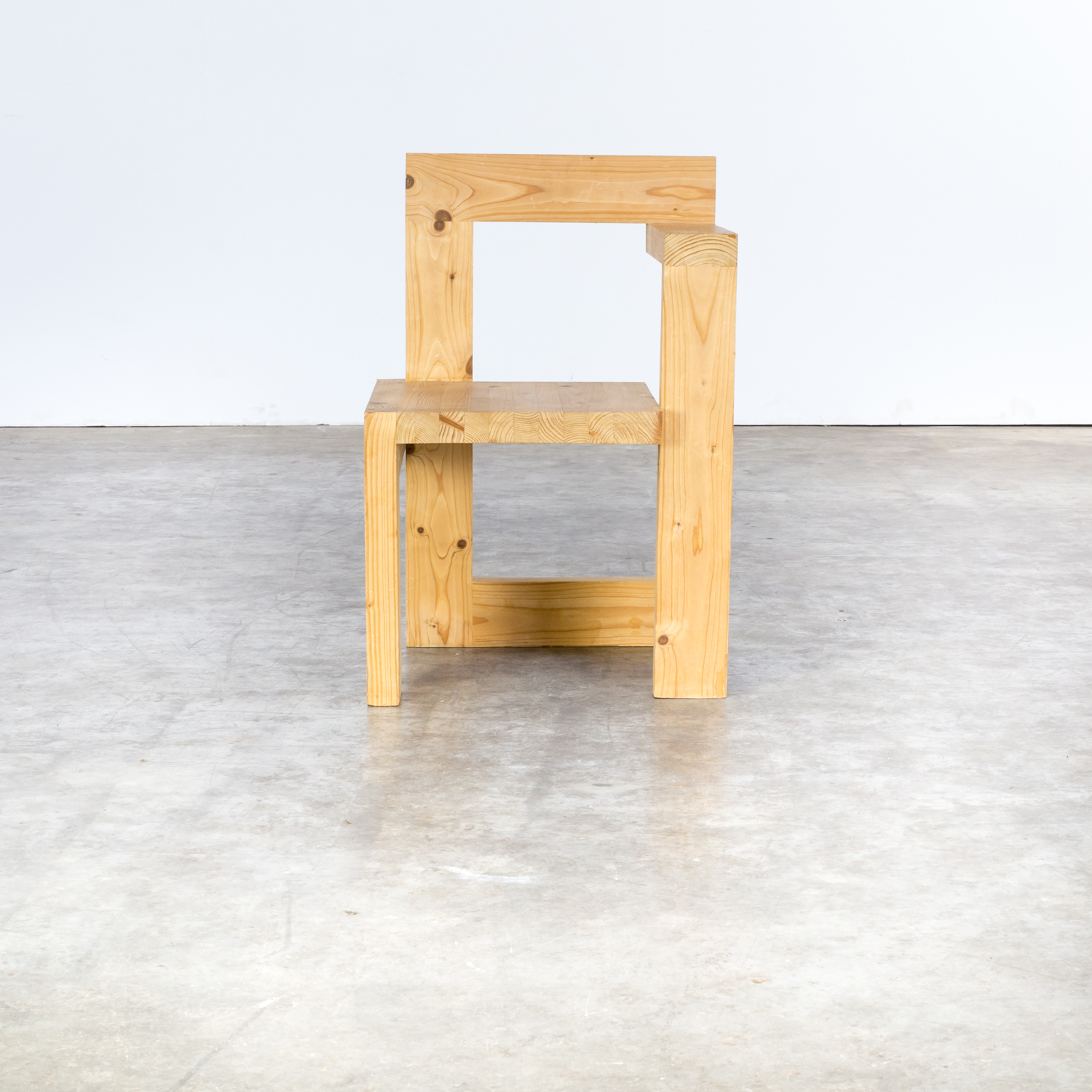 60s gerrit rietveld wooden steltman chair barbmama for Designer chairs from the 60s