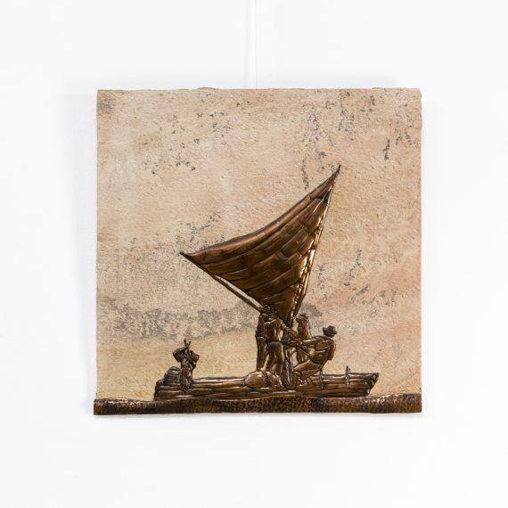 1229117OO-sculpture-granite-brutalist-mixed metals-johannes wilhelmus van dartel-brazil-vintage-design-retro-barbmama-1001