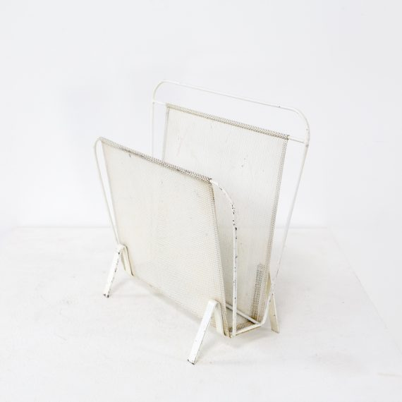 1020127OK-mathieu mategot-magazine holder-metal-white-vintage-design-retro-barbmama-1001