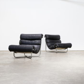 0128038ZF-georges van rijck-beaufort-belgium-fauteuil-leather-lounge-glasgow-black-vintage-retro-design-barbmama-1001