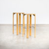 70s Bar Stool by Bruno Rey for Dietiker Kusch & Co set/2