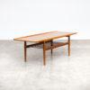 50s Grete Jalk Coffee Table in Teak by Glostrup Møbelfabrik