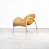 90s Studio D'Umbino Lomazzi 'manta' fauteuil for Pierantonio Bonacina