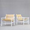 Giandomenico Belotti 'fly Line' spaghetti fauteuils for CMP-Padova set/2