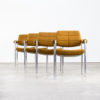 60s Miller Borgsen dining fauteuils for Röder Söhne set/4