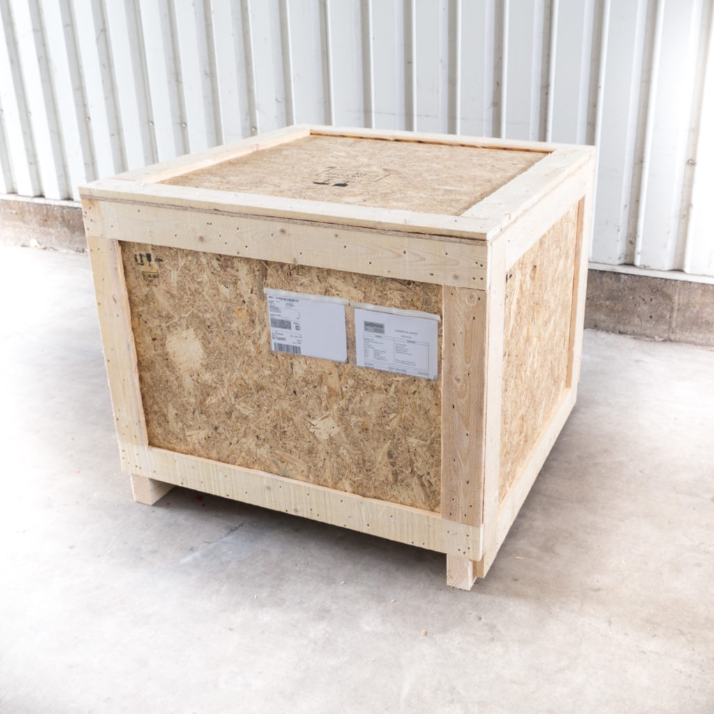 Barbmama shipping crate